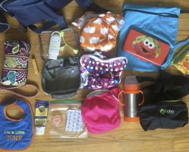 Cloth Diaper Bag Essentials